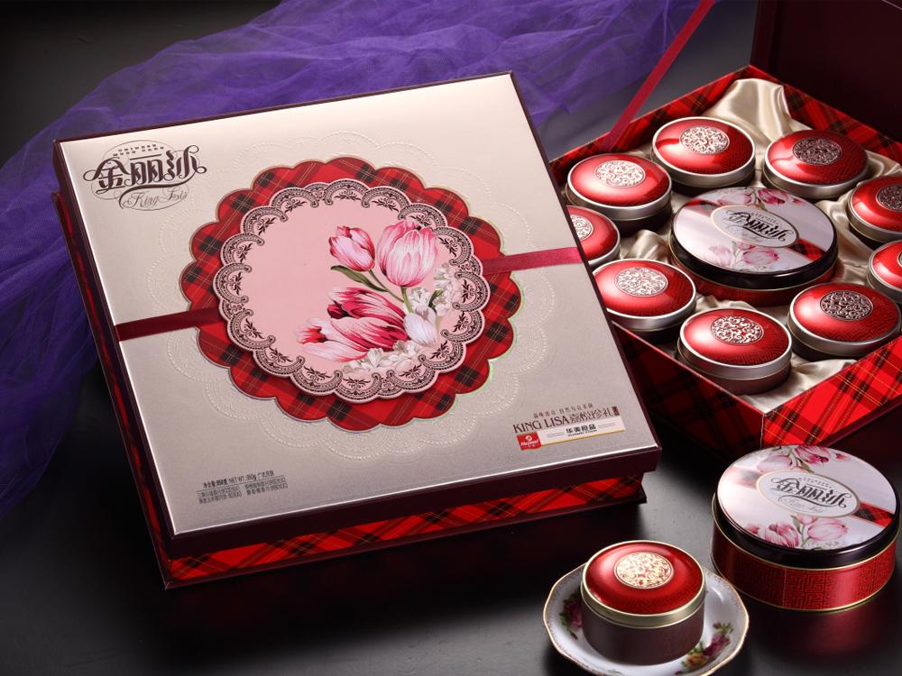 华美月饼-嘉悦珍礼950g