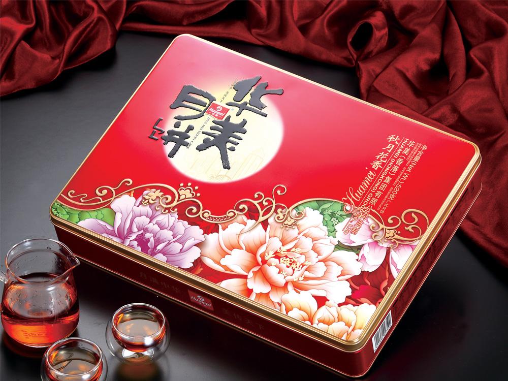 华美月饼-秋月花香520g