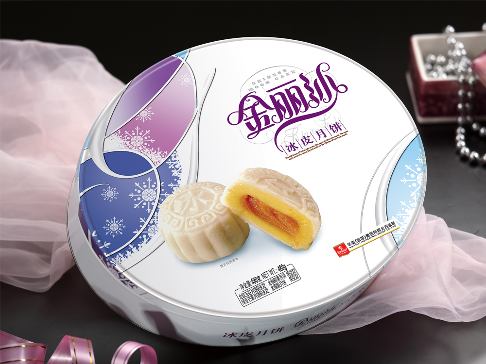 华美月饼-冰皮月饼480g